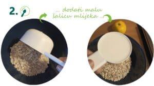 zobene pahuljice i mlijeko