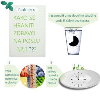 kako se zdravo hraniti na poslu