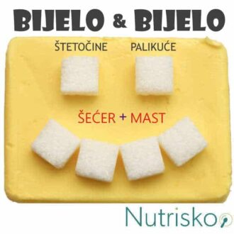 šećer i mast