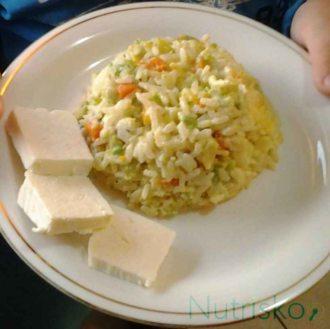 rižoto s komoračem i skuta